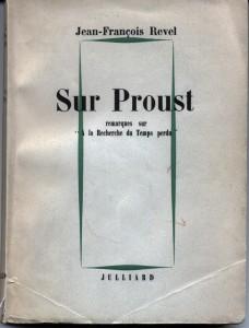 Sur Proust - Couverture R