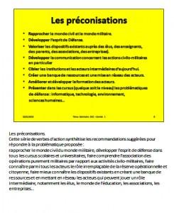 Préconisations et commentaires - 08